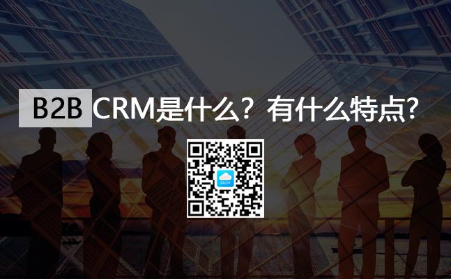 <b>B2BCRM系统是什么意思?有什么特点?</b>