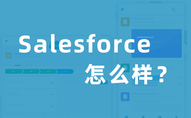 <b>Salesforce CRM怎么样?</b>